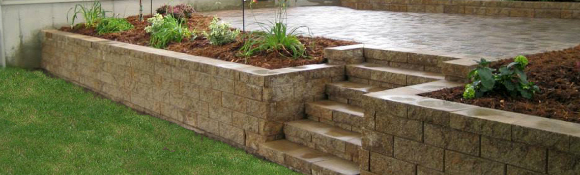 Dolan 39 s landscape center austin mn landscaping and for Back garden wall designs